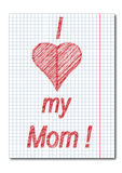 Mom day background Royalty Free Stock Photos