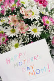 Mom di giorno della madre felice Fotografia Stock