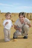 Mom & Girl Royalty Free Stock Image
