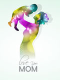 Mom with her child for Mothers Day celebration. Stock Photography
