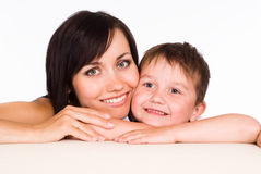 Mom with kid Royalty Free Stock Photography