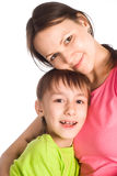 Mom with kid Royalty Free Stock Photos