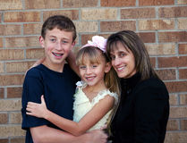 Mom and kids Royalty Free Stock Photo