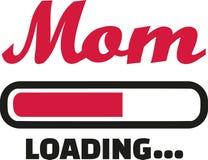 Mom Loading bar. Family vector Royalty Free Stock Photo