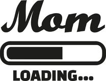 Mom Loading bar. Family vector Stock Photography