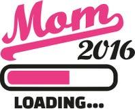 Mom 2016 Loading bar. Vector Royalty Free Stock Photo