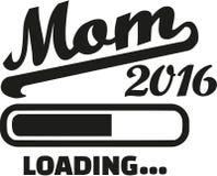Mom 2016 Loading. Bar vector stock illustration