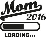 Mom 2016 Loading. Bar vector Stock Photography