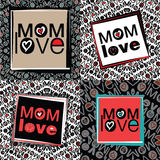 Mom love Royalty Free Stock Photos