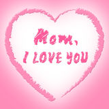 Mom Love Represents Boyfriend Mother And Fondness Royalty Free Stock Photos