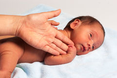 Mom And Newborn Royalty Free Stock Photo