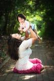 Mom och dotter Royaltyfri Foto