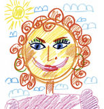 Mom portrait Stock Image