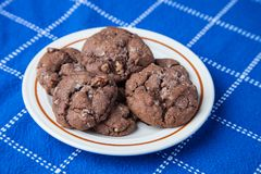 Mom`s German Chocolate Cake Mix chocolate chip cookies