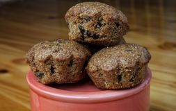 Mom`s homemade berry special muffins