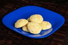 Mom`s homemade soft lemon sugar cookies