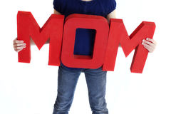 Mom Sign Royalty Free Stock Image