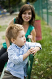 Mom and son Royalty Free Stock Photography