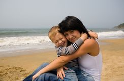 Mom & son Royalty Free Stock Photography