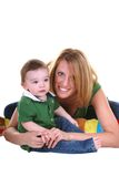 Mom and son. Royalty Free Stock Photos