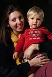 Mom and son Stock Photos