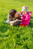 Mom and toddler Royalty Free Stock Photos