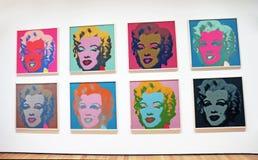 MOMA的玛丽莲・梦露 库存照片