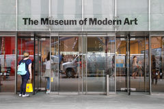 MoMA entrance Royalty Free Stock Photography