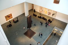 MOMA interior Stock Photos