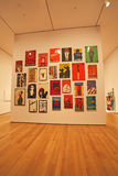 Moma museum, New York, USA Arkivfoto