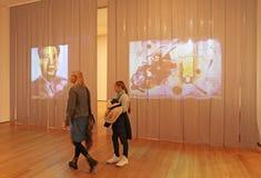 Moma museum, New York, USA Royaltyfria Foton