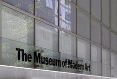 MoMAmuseum van Moderne Kunst, de Stad van New York stock fotografie