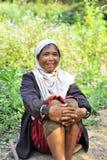 Moman ethinic locale Fotografia Stock