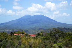 Mombacho火山 库存图片