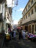 Mombasa - gammal stad Arkivfoto