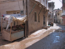 mombasa gammal town Arkivfoto