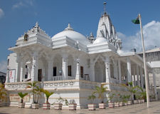 Mombasa - Jain temple. The Jain temple near Old Town in Mombasa. It was the first Jain Temple built outside India; consecrated in the 1960s Stock Image