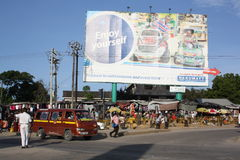 Mombasa Kenya Arkivfoto