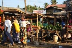 Mombasa marknad Arkivbild