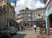 Mombasa Old Town Stock Image