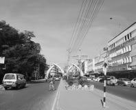 Mombasa - stadskärna Arkivfoton