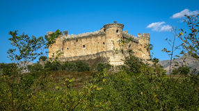 Mombeltran castle, Avila, Castilla y Leon, Spain Royalty Free Stock Image
