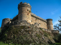 Mombeltran castle, Avila, Castilla y Leon, Spain Royalty Free Stock Photo