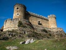 Mombeltran castle, Avila, Castilla y Leon, Spain Royalty Free Stock Photos
