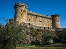 Mombeltran castle, Avila, Castilla y Leon, Spain Stock Image