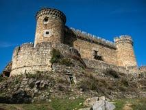 Mombeltran castle, Avila, Castilla y Leon, Spain Stock Photos