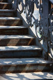 Moment av en venetian bro royaltyfria foton