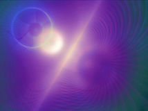 At the moment of creation. A fractal rendering of the moment of creation royalty free illustration
