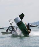 Moment de crash Image libre de droits