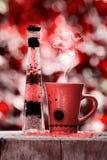 Moment de thé Images stock